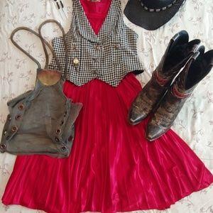 Vintage Dresses - Marilys pleated dress